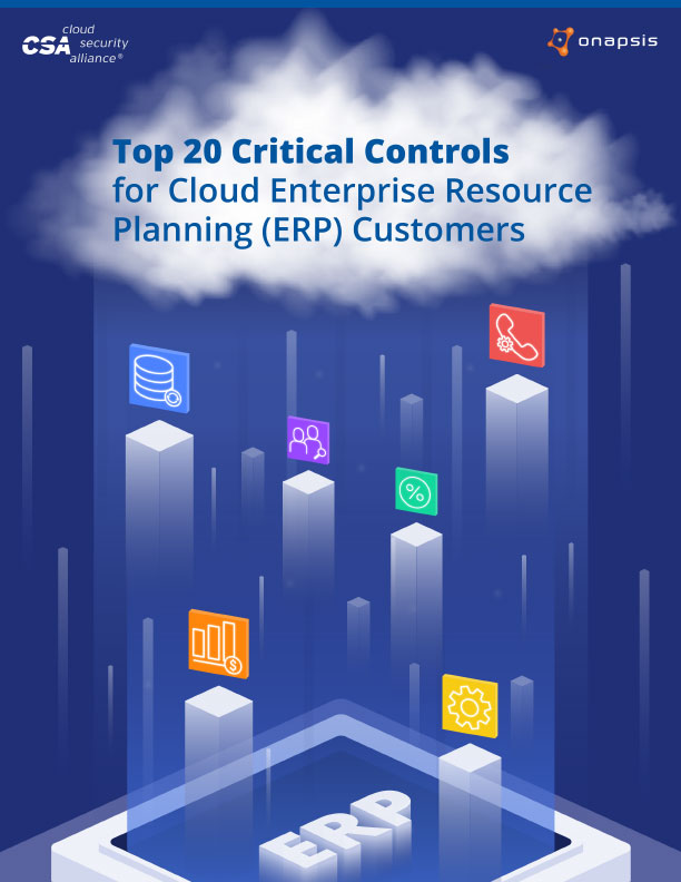 Top 20 Critical Controls for Cloud ERP Customers