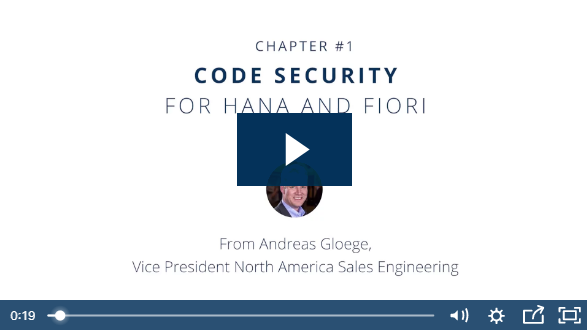 SAP Code and Transport Security Video Series