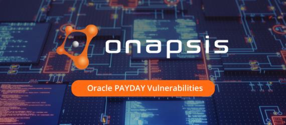Oracle PAYDAY Vulnerabilities