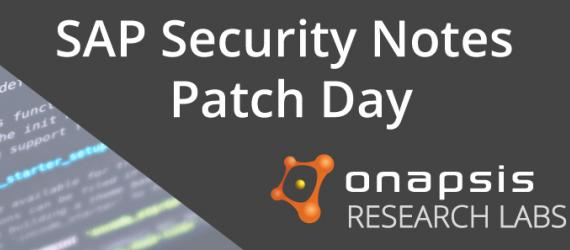 SAP Security Notes February '19: Several Critical Onapsis Reported Bugs Patched